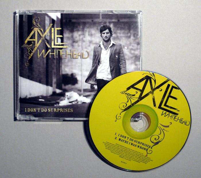 Axle Whitehead – Album Design