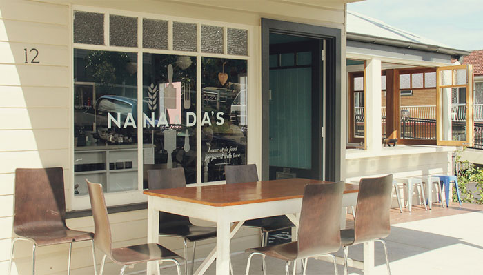 Nana & Da's – Cafe Design